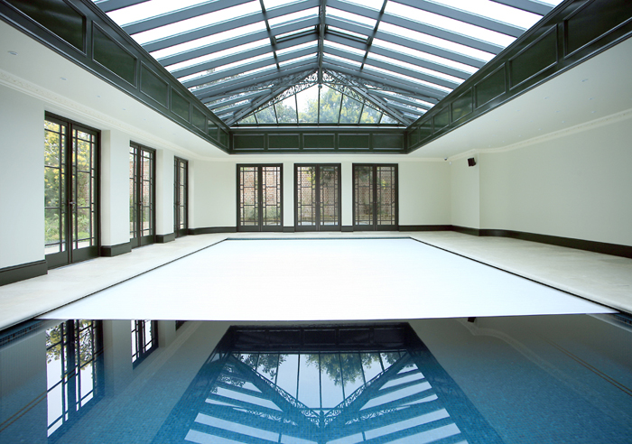 Swimming Pool In Conservatory Barnet London Pool 2 Clearwater Swimming Pools Ltd