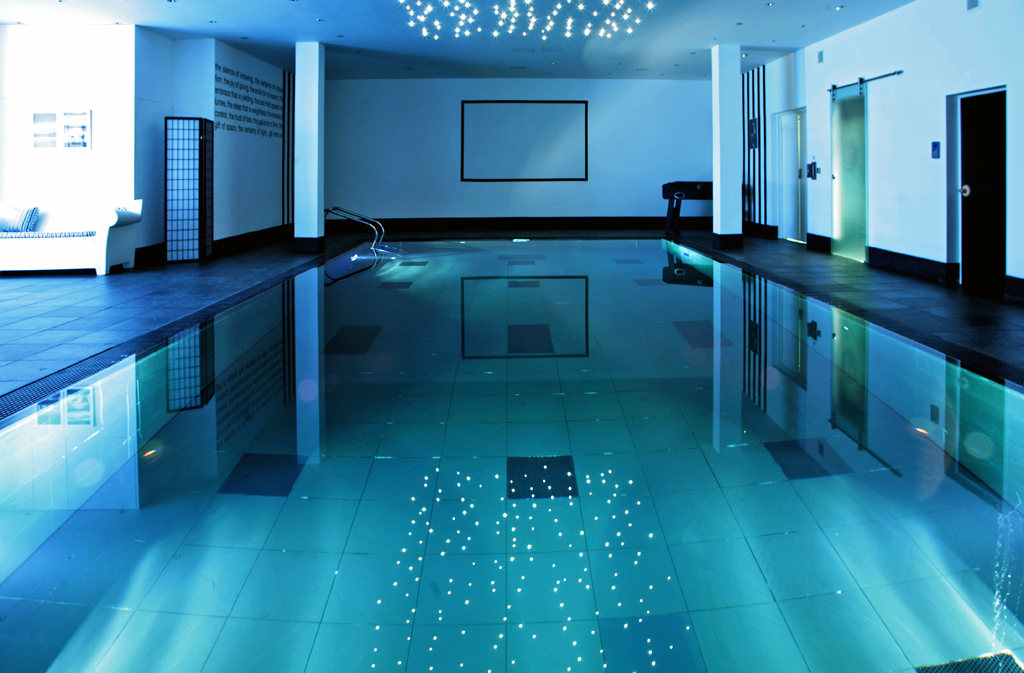 Swimming Pool Indoor Movable Lifting Pool Floor Construction In Barnet London Clearwater