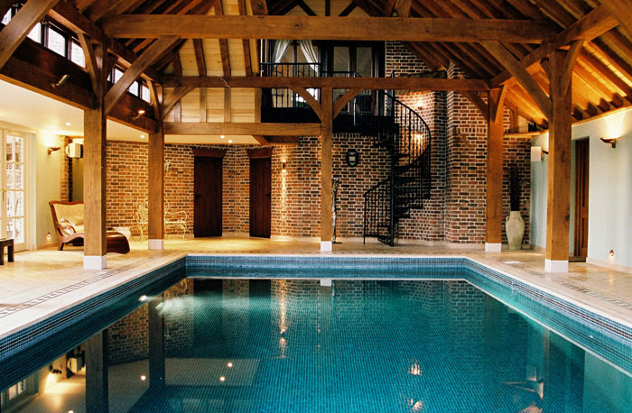 Swimming Pool Indoor Oak Framed Building In Harpenden Hertfordshire Clearwater Swimming Pools